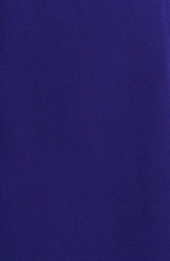 Alternate Image 3  - Eliza J Faux Leather Trim Shift Dress