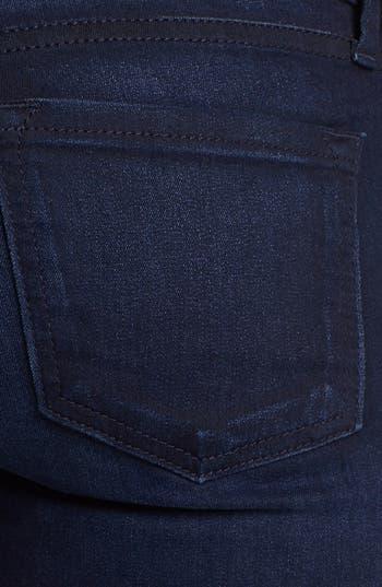 Alternate Image 3  - STS Blue Tuxedo Stripe Skinny Jeans (Medium) (Juniors)