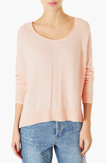 Alternate Image 1 Selected - Topshop Sheer Pullover