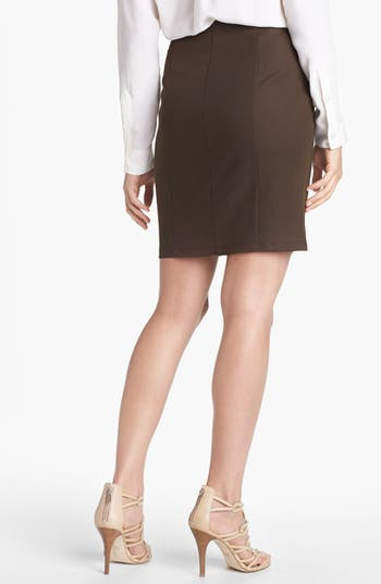 Alternate Image 2  - Vince Camuto Side Zip Skirt (Petite)