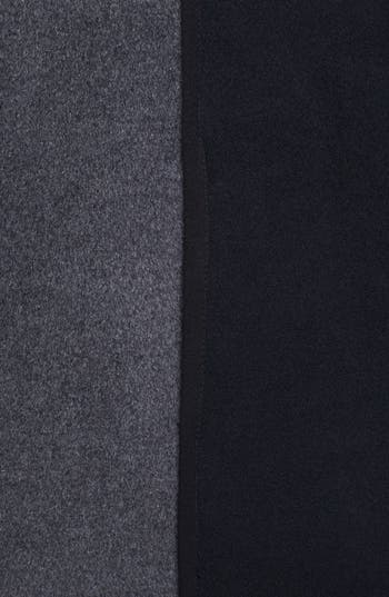 Alternate Image 3  - Kristen Blake Two Tone Wool Blend Walking Coat (Nordstrom Exclusive)