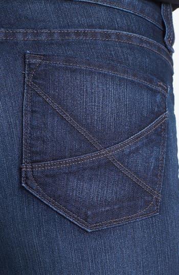 Alternate Image 2  - NYDJ 'Hayden' Stretch Straight Leg Jeans (Petite)