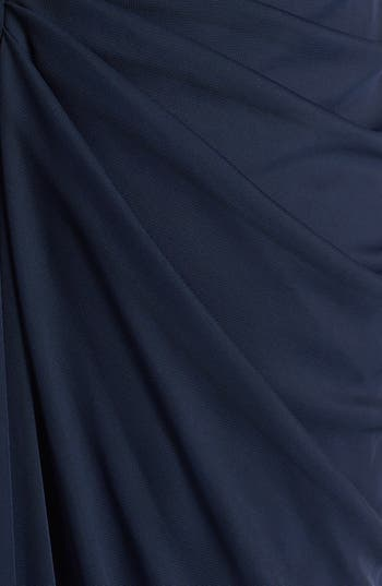 Alternate Image 3  - Adrianna Papell Embellished Illusion Yoke Mesh Gown