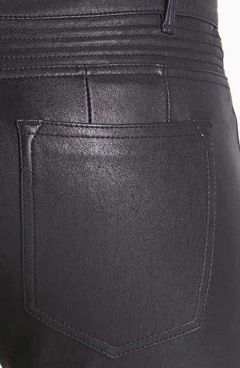 Alternate Image 3  - Vince Leather Moto Pants