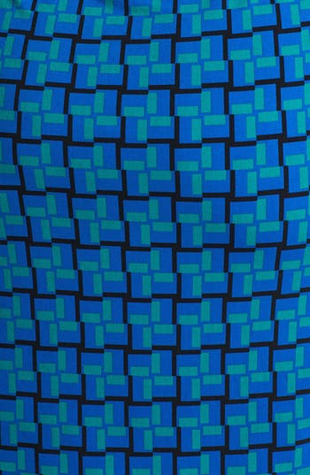 Alternate Image 3  - Calvin Klein Print Faux Wrap Dress (Plus Size)