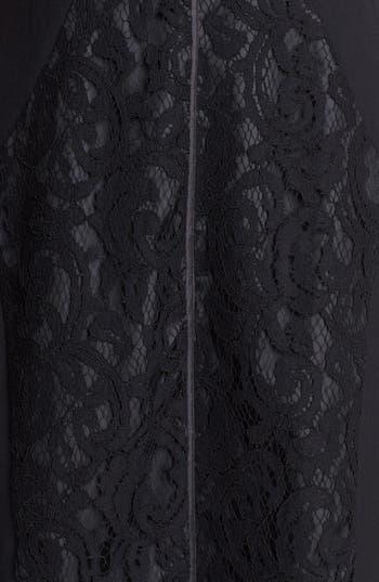Alternate Image 3  - Ellen Tracy Lace Sheath Dress