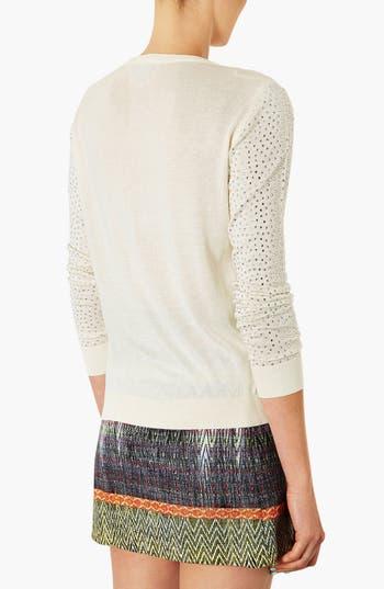 Alternate Image 2  - Topshop Embellished Knit Sweater