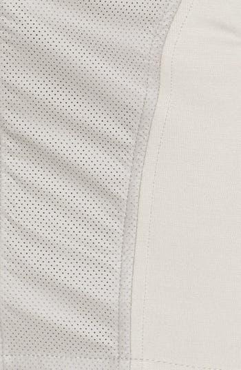 Alternate Image 3  - Lush Faux Leather Panel Miniskirt (Juniors) (Online Only)