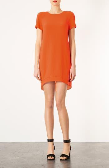 Main Image - Topshop Crepe Shift Dress