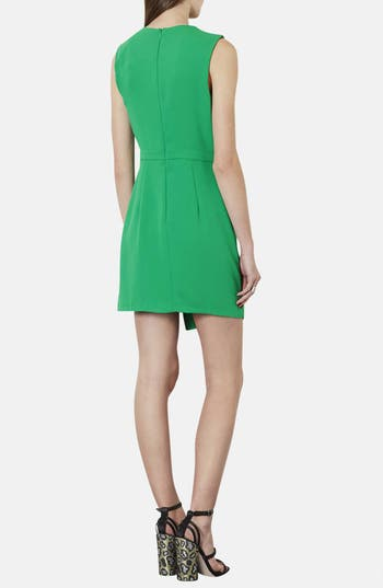 Alternate Image 2  - Topshop Drape Front Asymmetrical Hem Dress