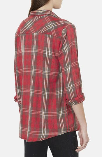 Alternate Image 2  - Topshop 'Marvin' Plaid Shirt
