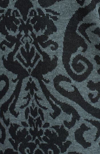 Alternate Image 3  - Absolutely Cotton Baroque Pattern Sweater (Juniors)