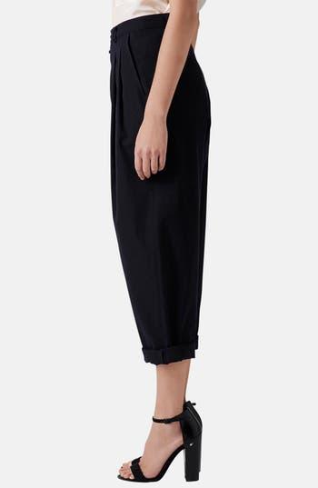 Alternate Image 4  - Topshop Boutique Wide Leg Wool Trousers