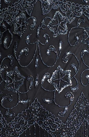 Alternate Image 3  - Pisarro Nights Beaded Mesh Dress (Regular & Petite)