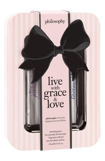 Alternate Image 2  - philosophy 'live with grace & love' rollerball trio (Limited Edition) ($60 Value)
