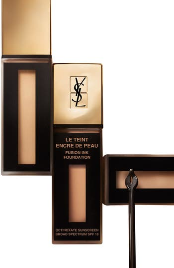 Alternate Image 4  - Yves Saint Laurent 'Fusion Ink' Foundation Broad Spectrum SPF 18