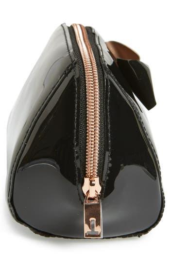 Alternate Image 3  - Ted Baker London 'Bow Trapeze - Small Washbag' Cosmetics Case