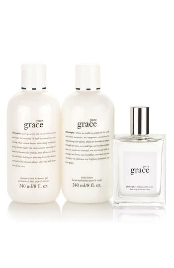 Alternate Image 1 Selected - philosophy 'pure grace' set (Limited Edition) ($88 Value)