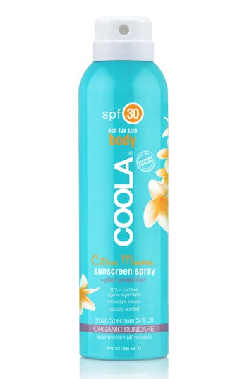 Alternate Image 2  - COOLA® Suncare Sport Sunscreen Spray Broad Spectrum SPF 30
