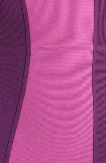 Alternate Image 3  - BCBGMAXAZRIA Colorblock Knit Sheath Dress