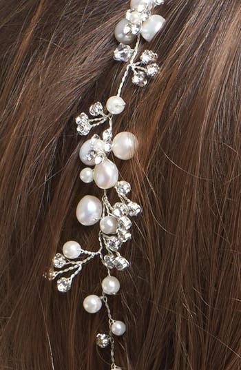 Alternate Image 2  - Tasha Faux Pearl & Crystal Head Wrap