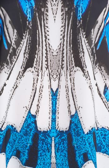 Alternate Image 3  - Evans Butterfly Print Top (Plus Size)