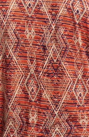 Alternate Image 3  - Lucky Brand 'Aztec' Print Top (Plus)