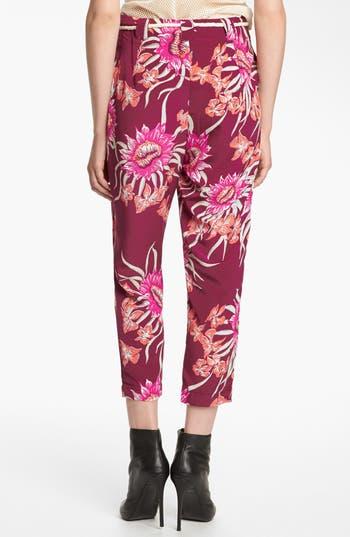 Alternate Image 2  - Viva Vena! Floral Pleated Pants
