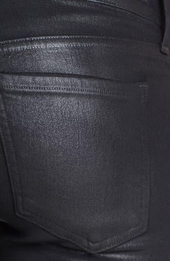 Alternate Image 3  - Citizens of Humanity 'Racer' Low Rise Coated Jeans (Black Coated)