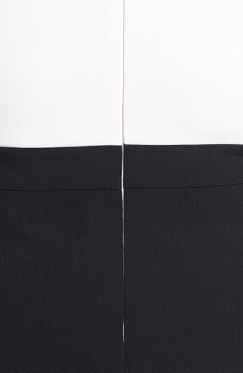 Alternate Image 3  - Adrianna Papell Embellished Crepe Sheath Dress (Plus Size)