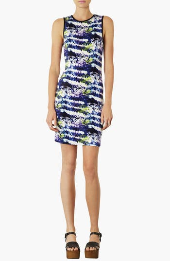 Alternate Image 1 Selected - Topshop 'X-Ray' Body-Con Dress