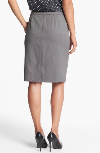 Alternate Image 2  - Jones New York 'Lucy - Birdseye' Pencil Skirt