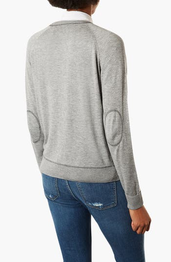 Alternate Image 2  - Topshop Marled Sweater