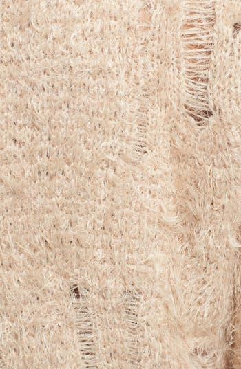 Alternate Image 3  - BP. Fuzzy Crop Sweater (Juniors)