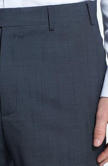 Alternate Image 3  - Zanella 'Todd' Flat Front Wool Trousers