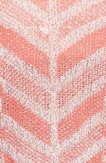 Alternate Image 3  - Love on a Hanger Chevron Knit Pullover (Juniors)
