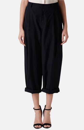Main Image - Topshop Boutique Wide Leg Wool Trousers