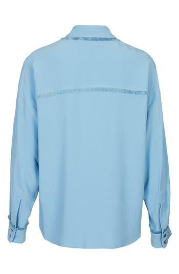 Alternate Image 3  - Topshop Unique 'Fray' Shirt