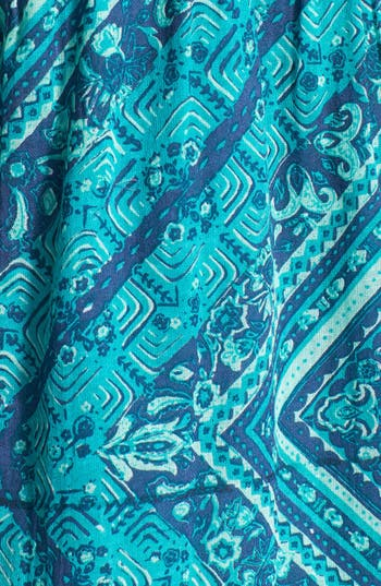 Alternate Image 3  - Billabong 'Lay It Back' Print Trapeze Dress (Juniors)