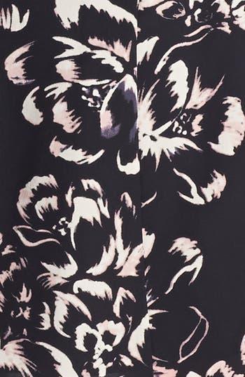 Alternate Image 3  - Rebecca Taylor 'Artisanal Blocked' Print Silk A-Line Dress