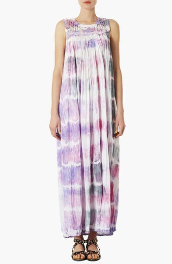 Alternate Image 1 Selected - Topshop Tie Dye Maxi Dress