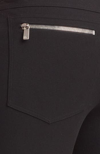 Alternate Image 3  - Michael Kors Skinny Techno Twill Pants
