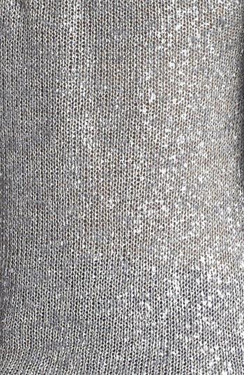 Alternate Image 3  - Eileen Fisher Scoop Neck Shimmer Sweater