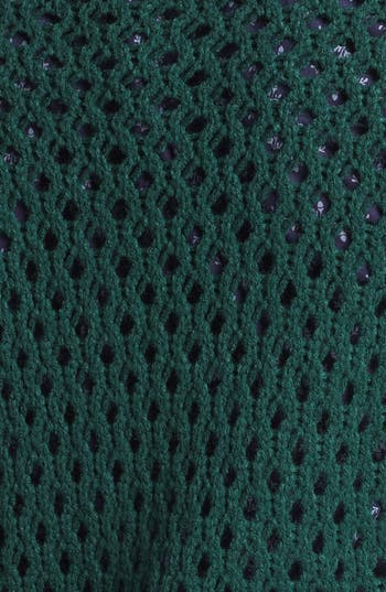 Alternate Image 3  - Halogen® Open Knit Cable Sweater