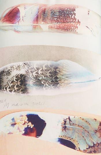 Alternate Image 3  - Maison Scotch Feather Print Tee