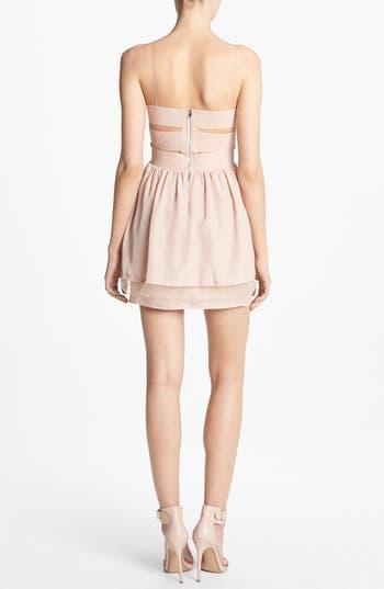 Alternate Image 2  - Like Mynded Elastic Back Dress