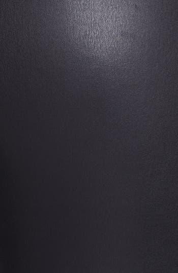 Alternate Image 3  - Vince Leather & Knit Skinny Pants