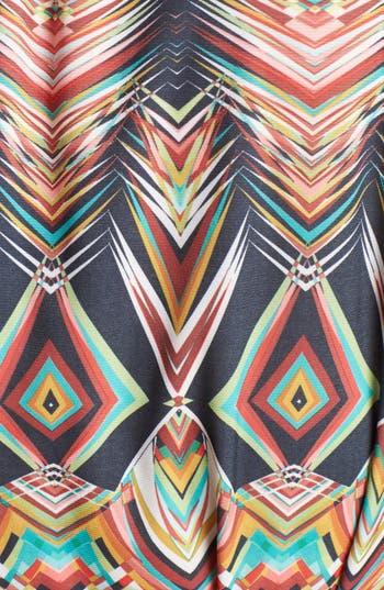 Alternate Image 3  - Viereck Print Belted Tunic Dress (Plus Size)