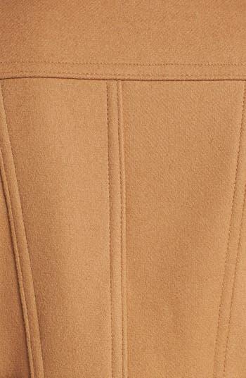 Alternate Image 3  - Kristen Blake Skirt Back Peacoat (Nordstrom Exclusive) (Petite)