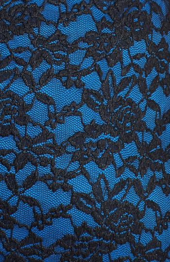 Alternate Image 3  - Ivy & Blu Lace Fit & Flare Dress (Plus Size)
